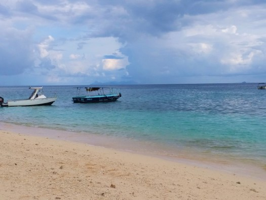 K in Motion Travel Blog. Travel the South Pacific on a Budget. Boats and Blue Water