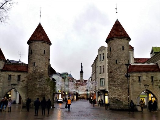 K in Motion Travel Blog. Discover Old and New Tallinn. Viru Gates in the Old Town