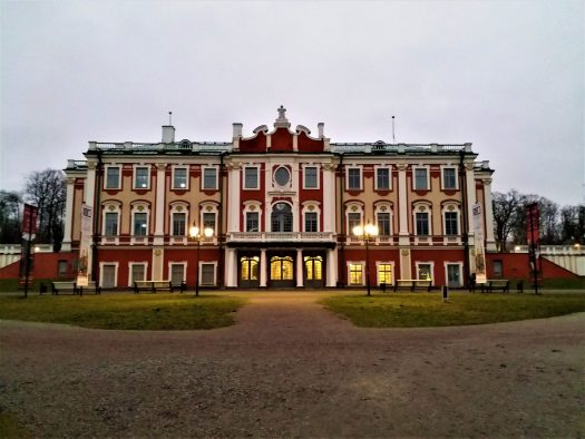 K in Motion Travel Blog. Discover Old and New Tallinn. Kadriorg Palace