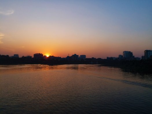 K in Motion Travel Blog. Around the World in Sunsets. Dhaka Bangladesh