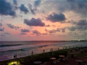 K in Motion Travel Blog. Around the World in Sunsets. Colombo, Sri Lanka Sunset 2