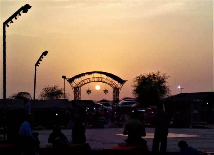 K in Motion Travel Blog. Around the World in Sunsets. The Desert Near Dubai