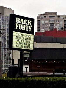 K in Motion Travel Blog. Amusingly Funny Signs Around the World. Pub Sign Canada