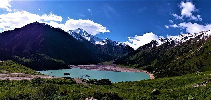 K in Motion Travel Blog. Mesmerising Lakes Around the World. Big Almaty Lake Kazakhstan