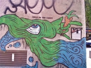 K in Motion Travel Blog. Interesting Sites in Southern Israel. Street Art 2