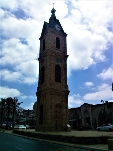K in Motion Travel Blog. Interesting Sites in Southern Israel. Old Jaffa Clock Tower