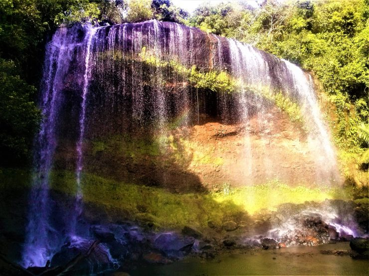 K in Motion Travel Blog. The Untouched Pacific Paradise of Palau. Ngardmau Waterfall