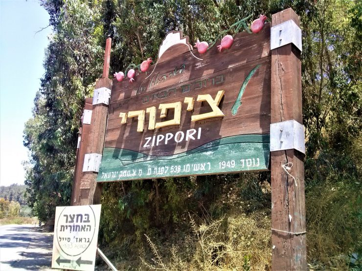 K in Motion Travel Blog. Religious Sites and Nature of Northern Israel. Zippori National Park on the Jesus Trail.