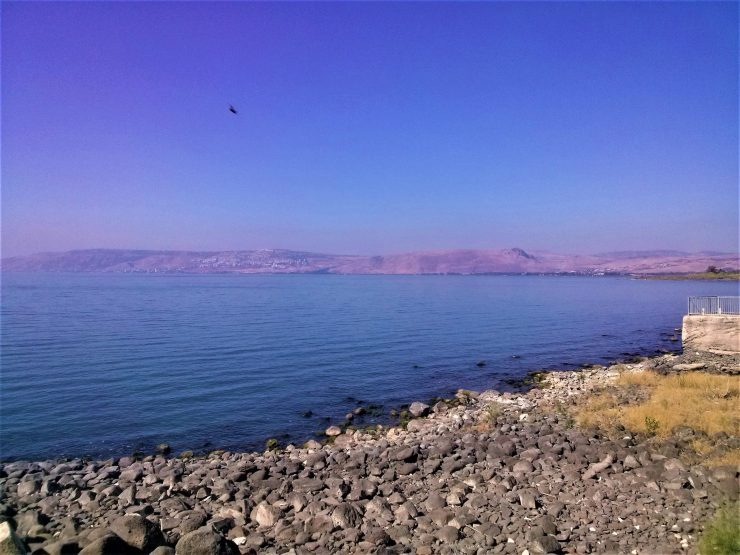 K in Motion Travel Blog. Religious Sites and Nature of Northern Israel. View at Capharnaum