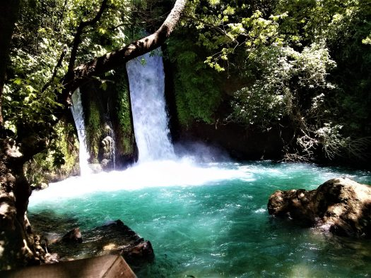 K in Motion Travel Blog. Historic and Natural Places to See in Northern Israel. Banias Waterfalls