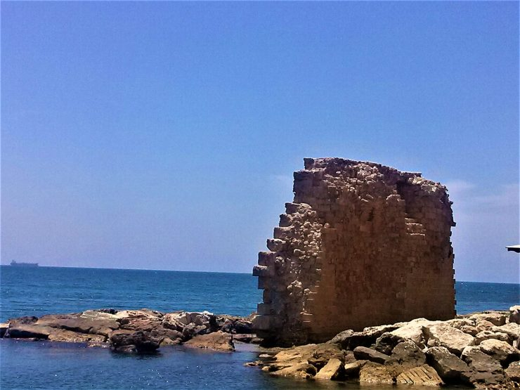 K in Motion Travel Blog. Historic and Natural Places to See in Northern Israel. Akko Old City Waterfront Wall
