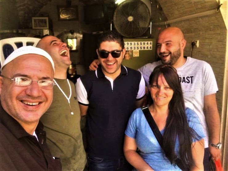 K in Motion Travel Blog. What Is It Really Like in Palestine. New Friends in Nablus