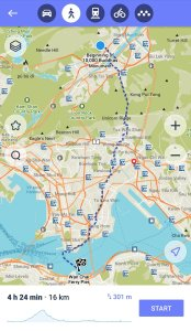 K in Motion Travel Blog. 5 Essentials Apps for Smart Travellers in 2021. Maps.ME Walking Route