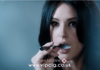 """Sexy"" VIP e-cig the first to vape in British TV advert"