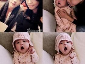 クォン・サンウ&ソン・テヨンと子供たちの写真
