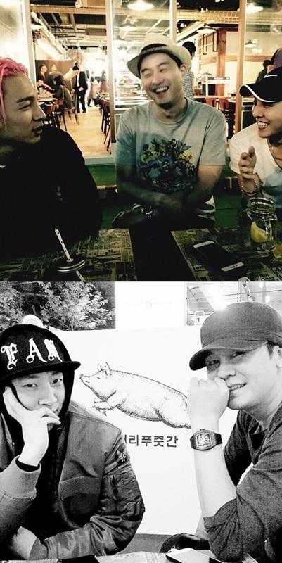 ヤン・ヒョンソク&TEDDY&Jinu&SOL&G-DRAGONの写真