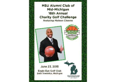 2015 Charity Challenge Golf Outing Program