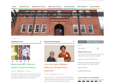 Chittenden Commons Blog