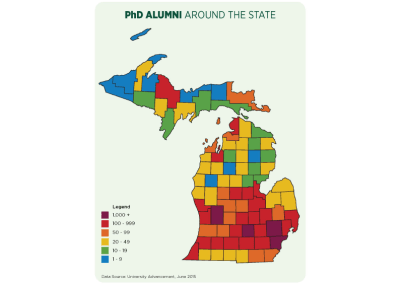 Alumni Concentration Mapping