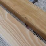 【DIY・前編】キッチンの背面に棚を作ろう!計画 * アンティークワックスで木材を塗装の巻