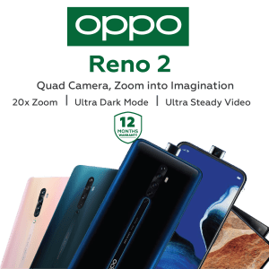 Reno 2 by Oppo
