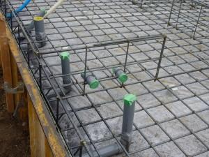 配筋「鉄筋の組み立て」