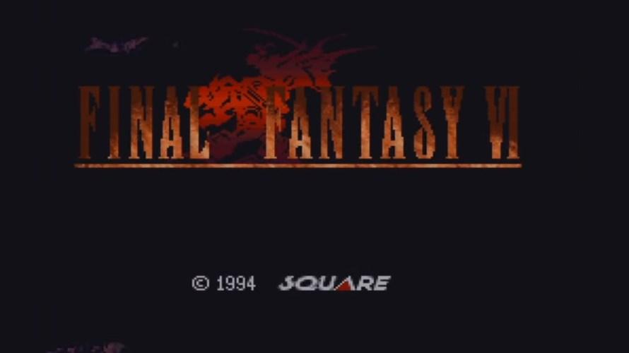 FF6-タイトル画面