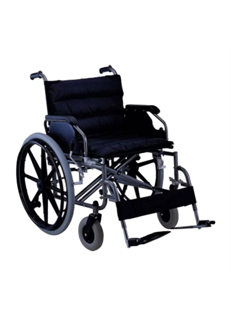 Wheel Chair Cushion Shop Media6 Extra Wide Wheelchair With Cushion Online In Dubai Abu Dhabi And All Uae