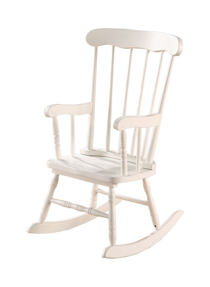 Kids Rocking Chairs Shop Homes R Us Mia Kids Rocking Chair White Online In Dubai Abu Dhabi And All Uae