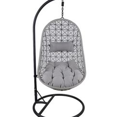 Hanging Chair Jeddah Diy Outdoor Shop Pan Emirates Cruella With Cushion Black Online In Imagegalleryimg