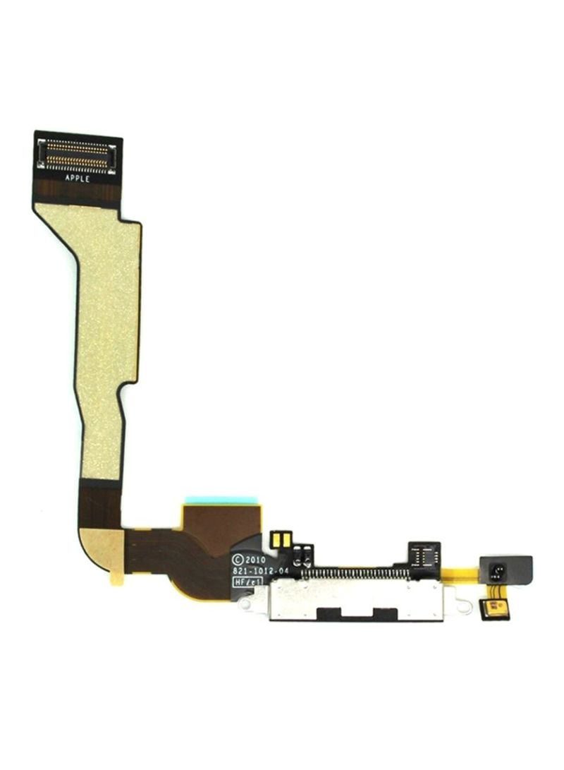 hight resolution of replacement charging port flex cable for iphone 4s yellow
