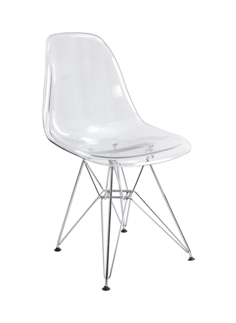 Plastic Clear Chair Shop Ebarza Acrylic Dining Chair Clear Online In Dubai Abu Dhabi And All Uae