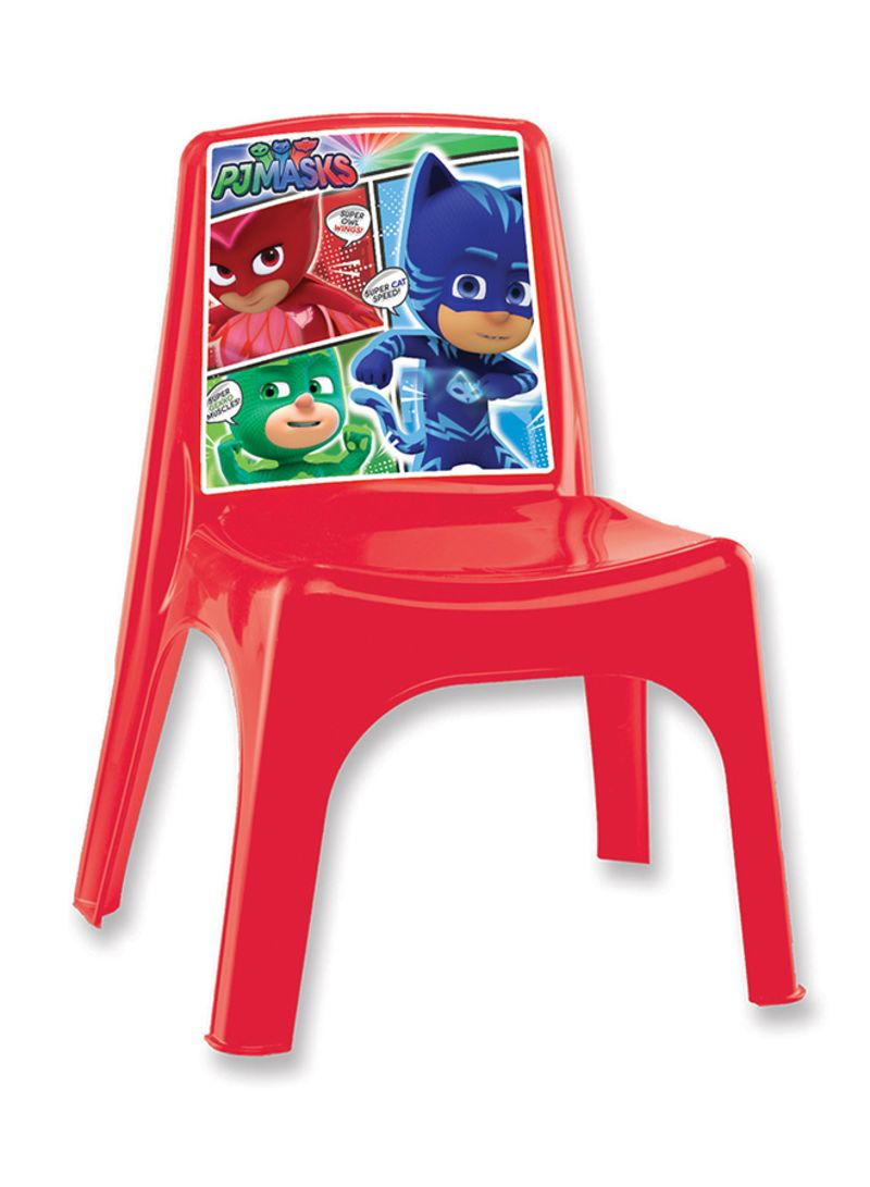 Plastic Kids Chairs Shop Pj Masks Kids Chair Red Online In Dubai Abu Dhabi And All Uae