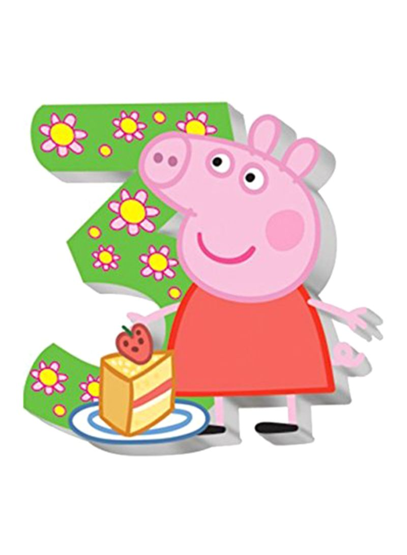 Shop Peppa Pig Birthday Party Supplies Cake Topper Online In Egypt