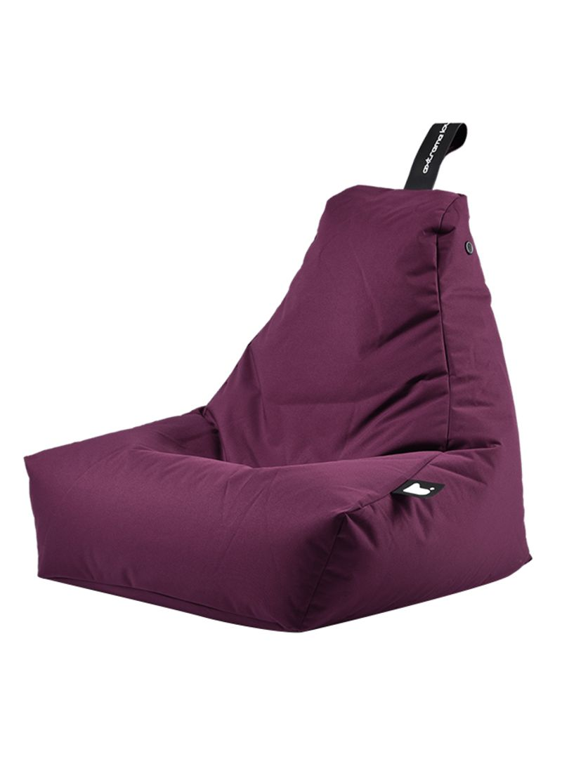 Mini Bean Bag Chair تسوق Extreme Lounging وoutdoor Mini Bean Bag Purple أونلاين في السعودية