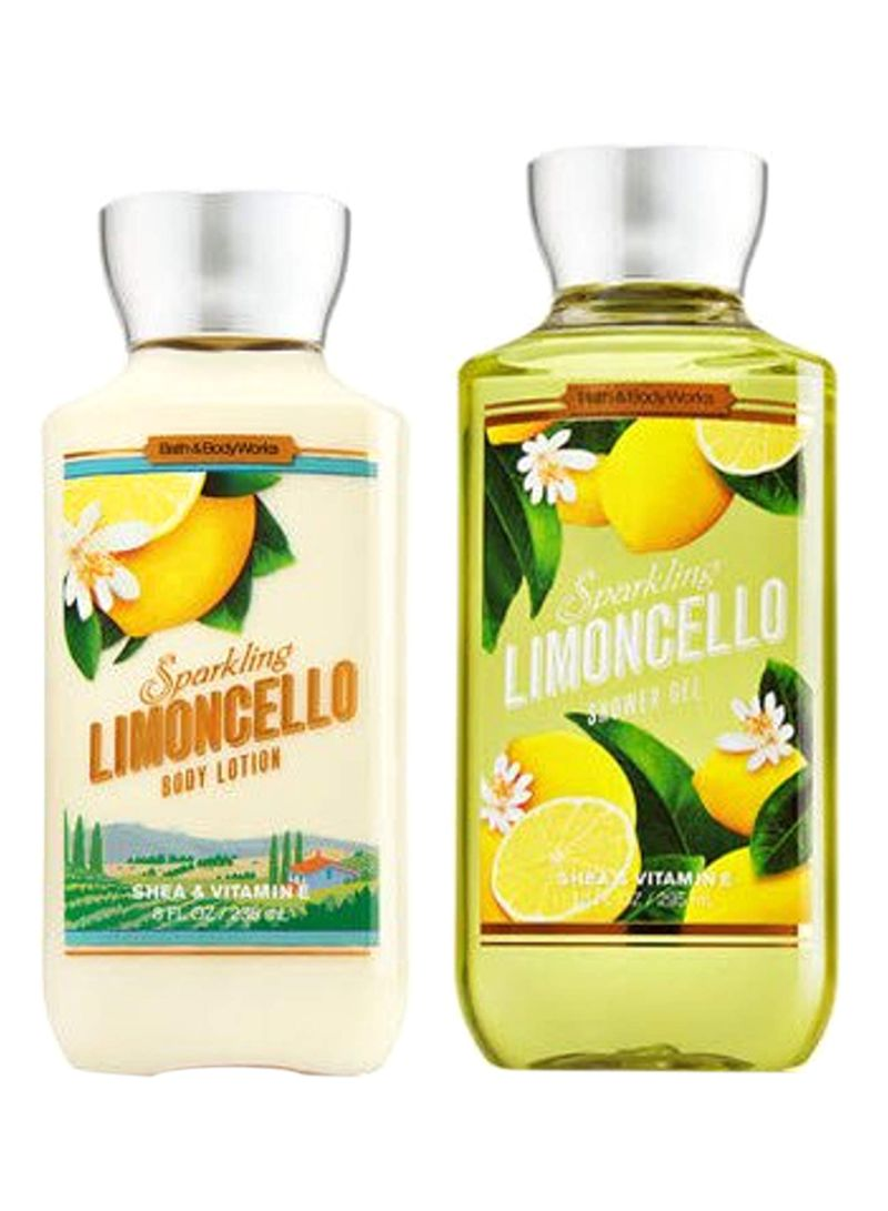Limoncello Lotion Bath And Body Works : limoncello, lotion, works, Works, Sparkling, Limoncello, Combo, Lotion, Shower, Price, Saudi, Arabia, Kanbkam