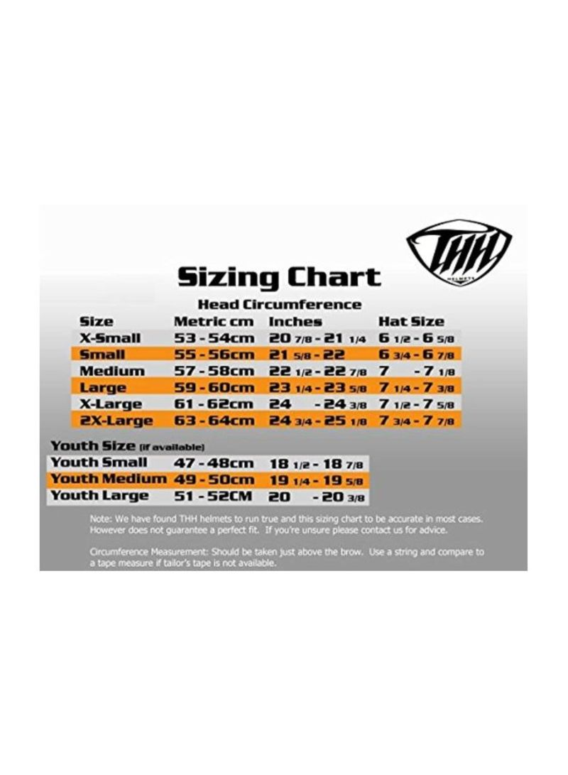 Youth Motorcycle Helmet Size Chart : youth, motorcycle, helmet, chart, Helmets, Chart, Daval