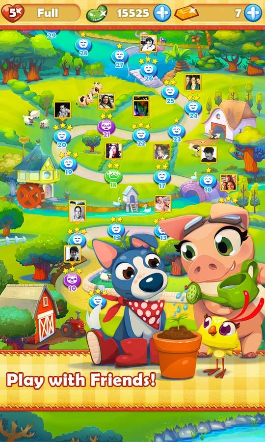 Farm Heroes Saga Online  Play The Game At Kingcom