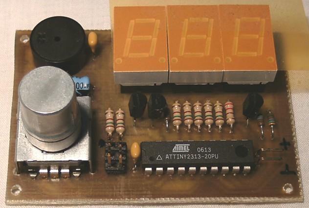 Project 41 Breadboarded Buzzer Circuit