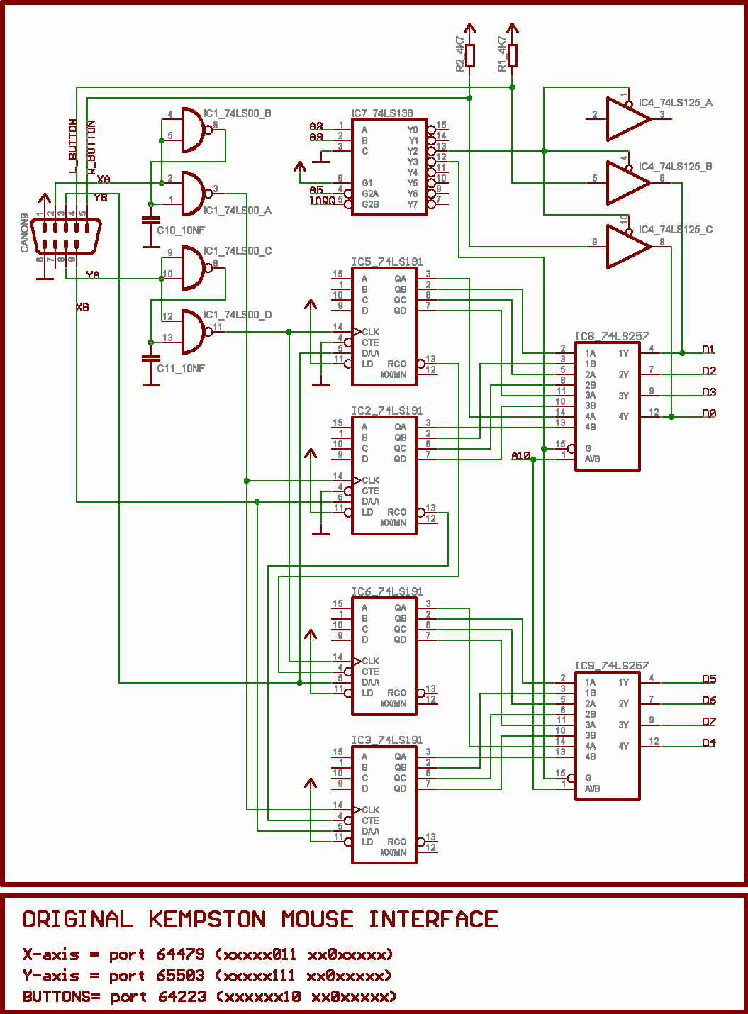hight resolution of kempston mouse schematics png