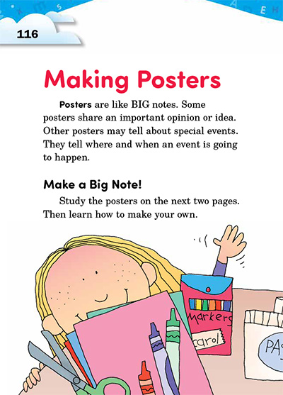24 making posters thoughtful learning