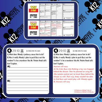 The Polar Express Movie Viewing Guide | Questions | Worksheet (G - 2004) Free Sample