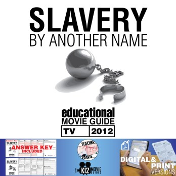 Slavery By Another Name Movie Guide | Questions | Worksheet (TV - 2012) Cover