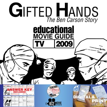 Gifted Hands: The Ben Carson Story Movie Guide | Worksheet (TV - 2009) Cover