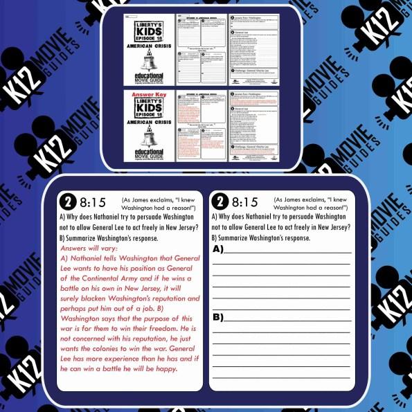 Liberty's Kids - Bunker Hill (E09) - Movie Guide | Worksheet Free Sample