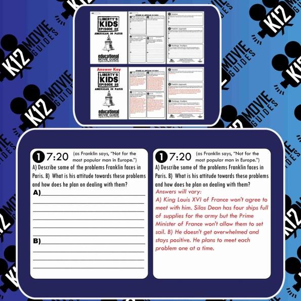 Liberty's Kids - Washington Takes Command (E11) - Movie Guide | Worksheet Sample