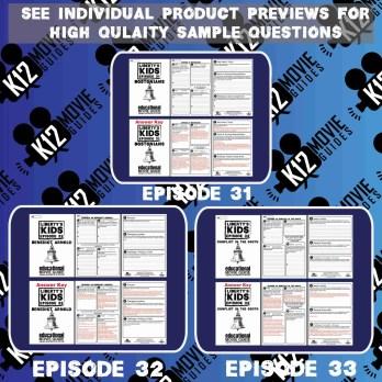 Liberty's Kids - BUNDLE - Episodes 31 - 35 Movie Guide | Worksheet Sample