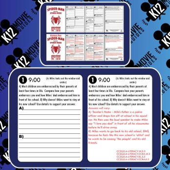 Spider-Man: Into the Spider-Verse Movie Guide | Worksheet (PG - 2018) Free Sample