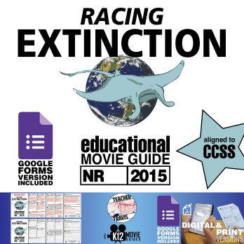 Racing Extinction Documentary Movie Guide | Questions | Google Forms (2015) Cover