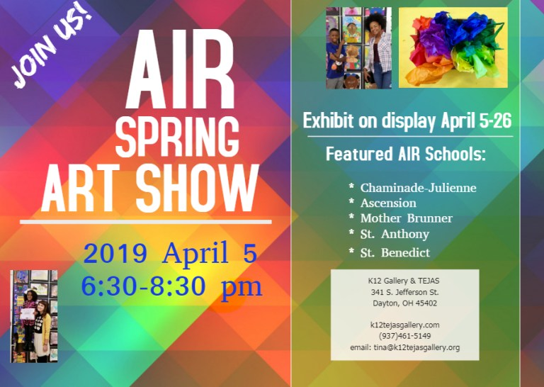 AIR SPring show card